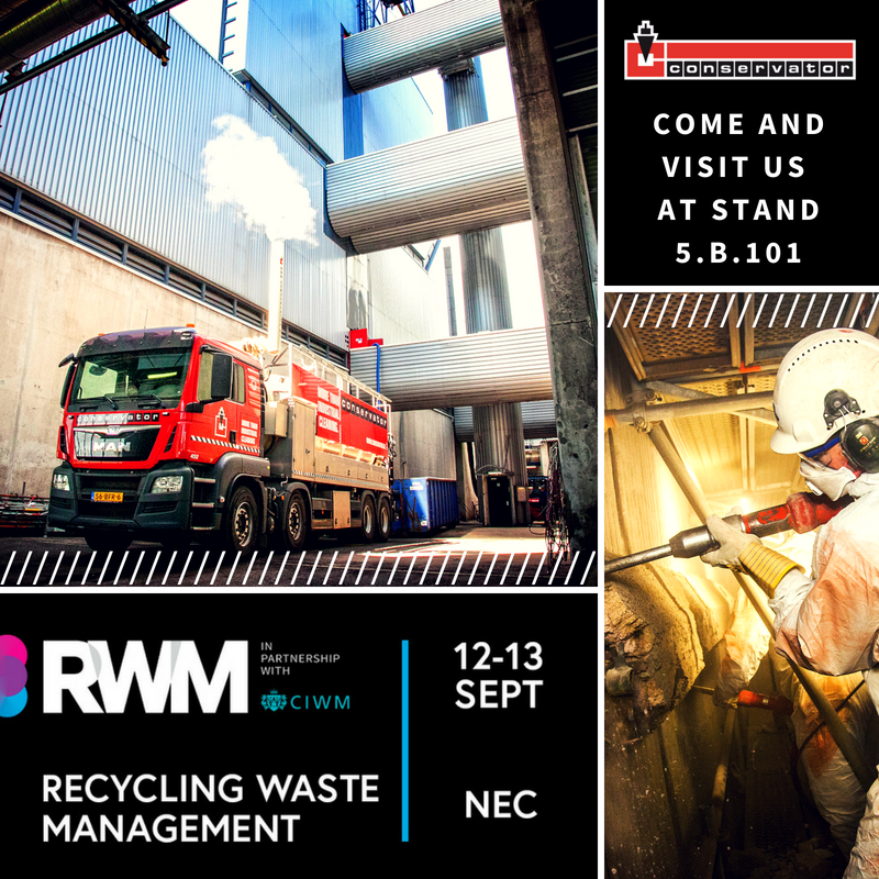 Come And Visit Us At The RWM Exhibition 2018!