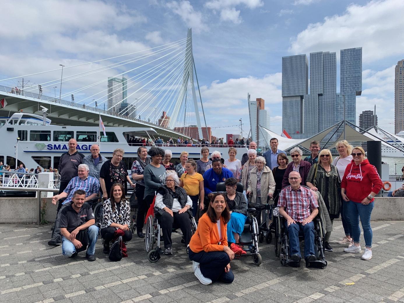 Conservator Organiseert Maatschappelijk Uitje Spido Met Stichting Present En Breinpuzzel